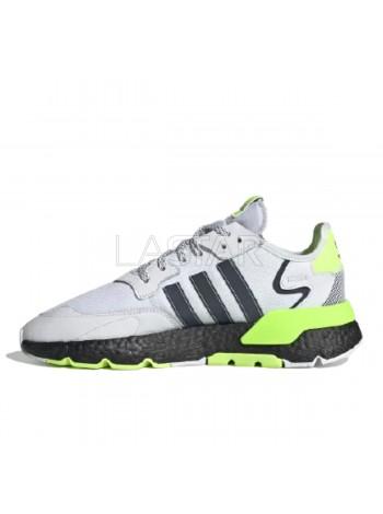 Adidas Nite Jogger Cloud White Signal Green EG6749