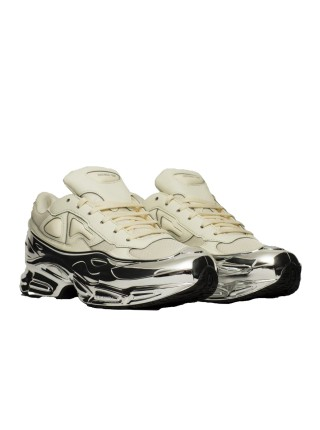Adidas Ozweego Raf Simons Cream White Silver Metallic EE7945