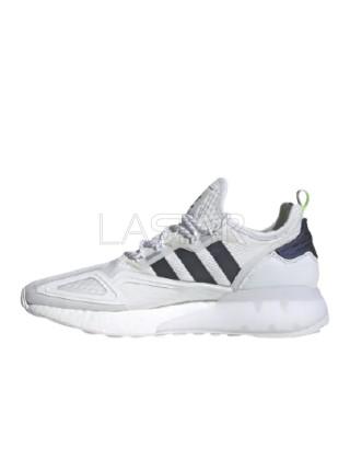 Adidas ZX 2K Boost White Iridescent Core Black FX8489