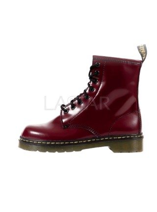 Dr. Martens 1460 Patent Leather Ankle Boots Bordo