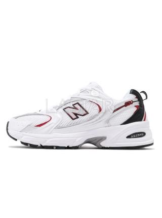 New Balance 530 White Red Black