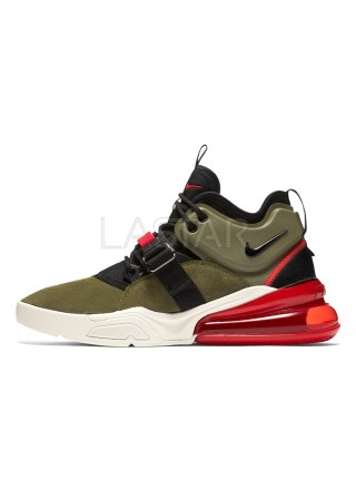 Nike Air Force 270 Medium Olive Challenge Red AH6772-200