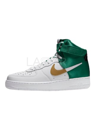 Nike Air Force 1 High NBA Celtics BQ4591-100