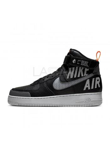 Nike Air Force 1 High Under Construction Black CQ0449-001