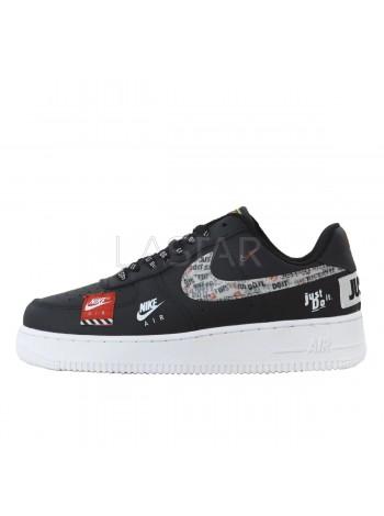 Nike Air Force 1 '07 PRM JDI Black White AV034-109