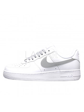 Nike Air Force 1 Low 3M Static Reflective White
