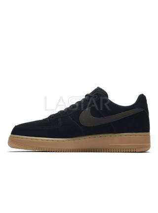 Nike Air Force 1 '07 LV8 Suede Mens Low-Top Black AA1117-001