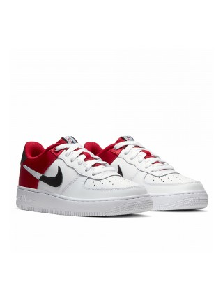 Nike Air Force 1 LV8 White Red BQ4420-600