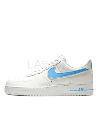 Nike Air Force 1 07 Low White University Blue AO2423-100