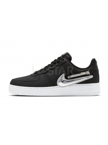 Nike Air Force 1 Low Zip Swoosh Black CW6558-001