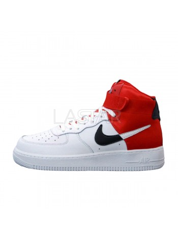 Nike Air Force 1 NBA Mid White Red