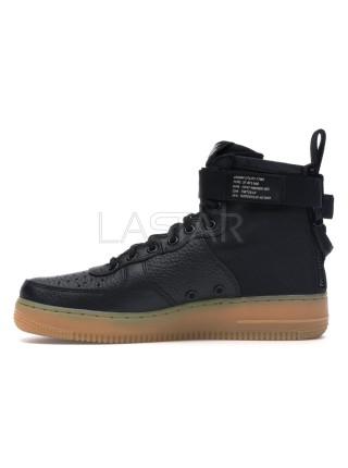 Nike SF Air Force 1 Mid Black Gum 917753-003