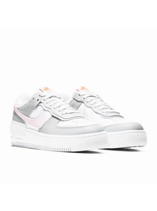 Nike Air Force 1 Shadow Grey Pink CZ0370-100