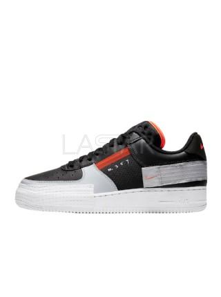 Nike Air Force 1 Type Black Hyper Crimson CQ2344-001
