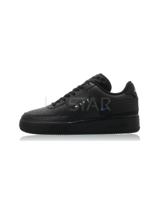 Nike Air Force 1 Type Black Royal AT7859-001