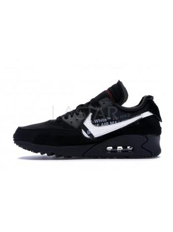 Nike Air Max 90 OFF-WHITE Black AA7293-001
