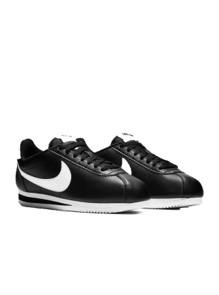 Nike Classic Cortez Basic Black White 819719-012