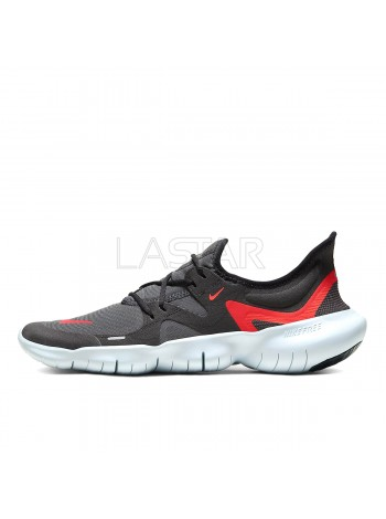 Nike Free RN 5.0 Black Bright Crimson AQ1289-009