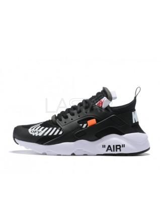 Nike Air Huarache Off-White Ultra Black White