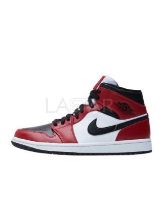 Jordan 1 Mid Chicago Toe 554724-069