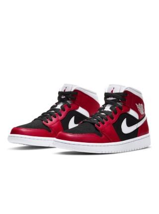 Jordan 1 Mid Gym Red Black BQ6472-601