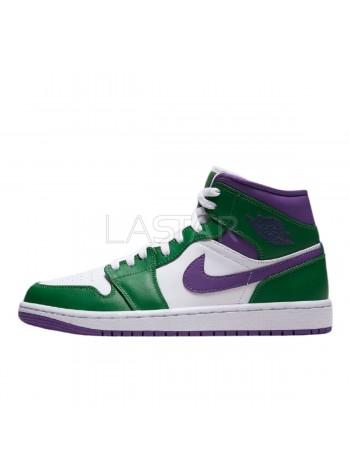 Jordan 1 Mid Incredible Hulk 554724-300