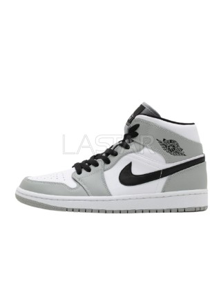 Jordan 1 Mid Light Smoke Grey 554724-092