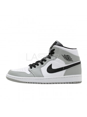 Jordan 1 Mid Light Smoke Grey 554724-092
