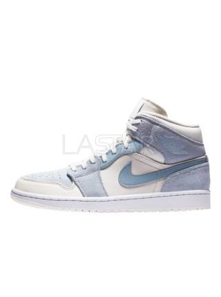 Jordan 1 Mid Mixed Textures Blue DA4666-100