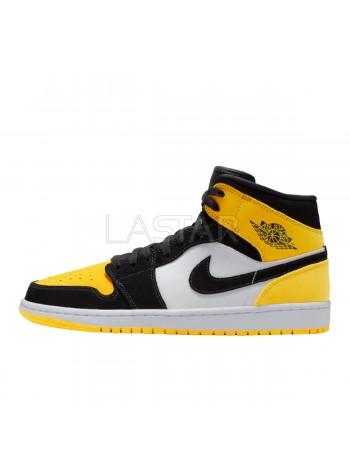 Jordan 1 Mid Yellow Toe Black 852542-071