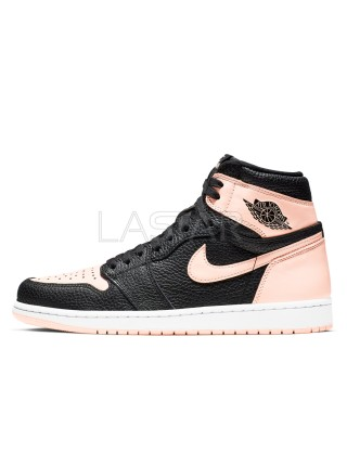 Jordan 1 Retro High Black Crimson Tint 555088-081