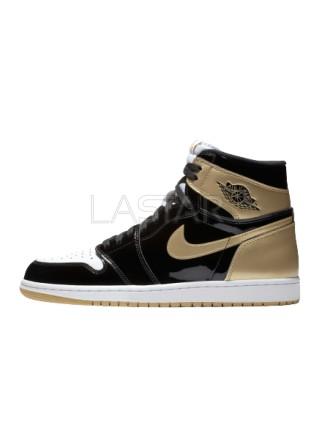 Jordan 1 Retro High NRG Patent Gold Toe 861428-007