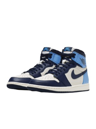 Jordan 1 Retro High Obsidian 555088-140