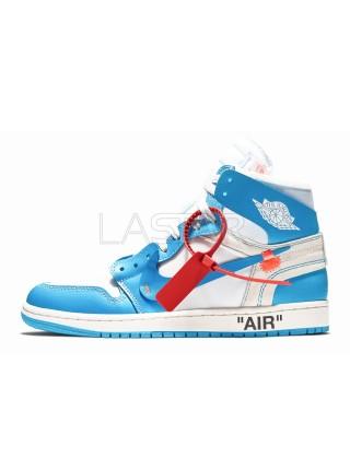 Jordan 1 Retro High Off-White University Blue AQ0818-148
