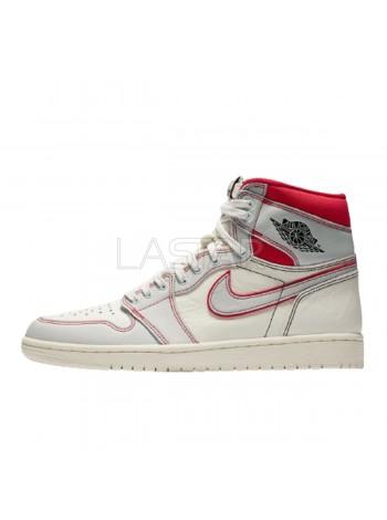 Jordan 1 Retro High Phantom Gym Red 555088-160