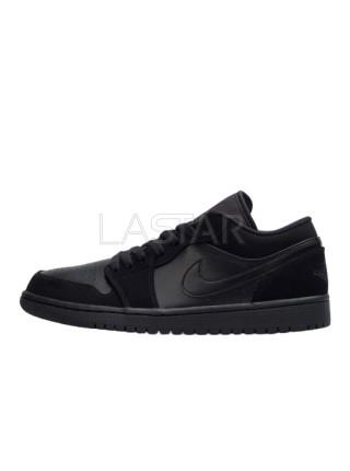 Jordan 1 Retro Low Triple Black 553558-025
