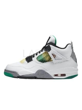 Jordan 4 Retro Lucid Green Rasta AQ9129-100