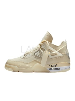 Jordan 4 Retro Off-White Sail CV9388-100