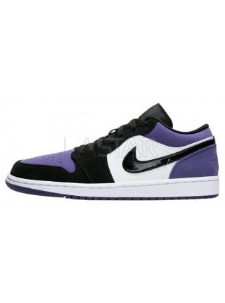 Jordan 1 Retro Low Court Purple 553558-125
