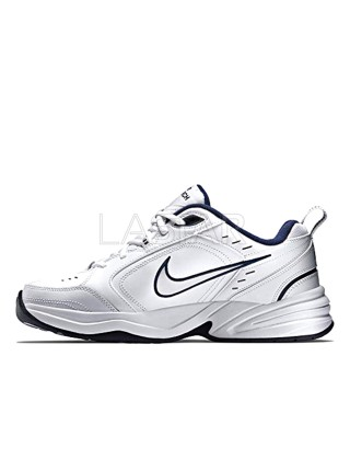 Nike Air Monarch IV White Navy 415445-102