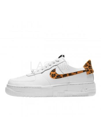 Nike Air Force 1 Pixel SE Leopard Print Summit White Multi-Color CV8481-100