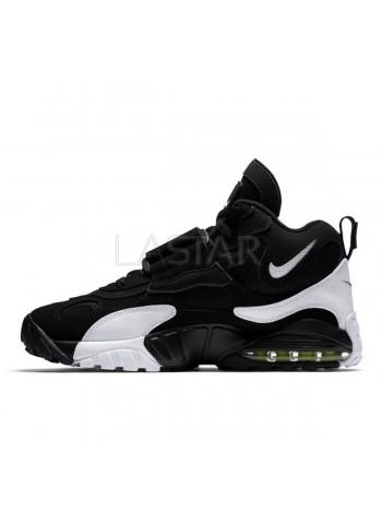Nike Air Max Speed Turf Black White Voltage Yellow 525225-011