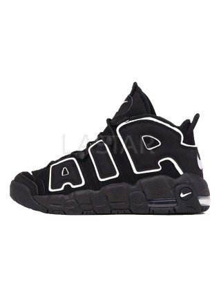 Nike Air More Uptempo Black White 414962-002