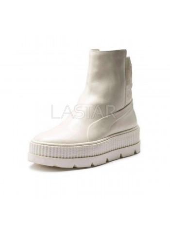 Puma X Fenty By Rihanna Chelsea Sneaker Boot Vanilla Ice 366266-02