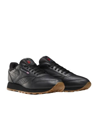 Reebok Classic Leather Black Gum 49800
