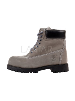 Timberland Classic Premium 6-Inch Boots In Gray and Black (С МЕХОМ)