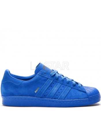 Adidas Superstar 80s City Series Paris Blue
