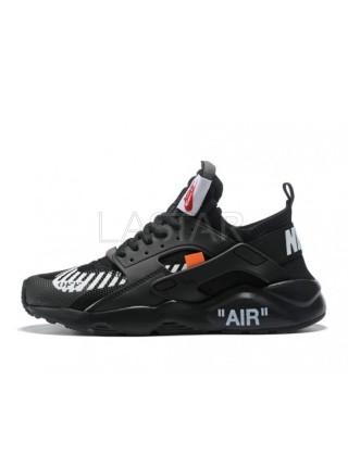 Nike Air Huarache Off-White Ultra Black
