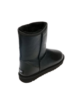 UGG Classic Short Boot Leather Black