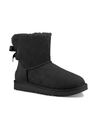 UGG Classic Mini Bailey Bow Black
